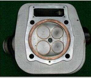 welches ventil ist größer ein oder auslass